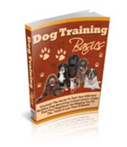 Product picture Dog Training Basics