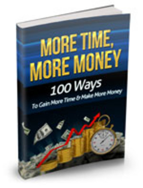 Product picture More Time More Money