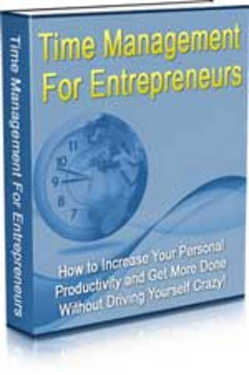 Product picture Time Management for Entrepreneurs
